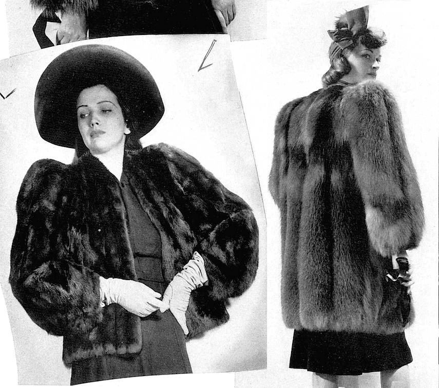 Furs on dames, 1941