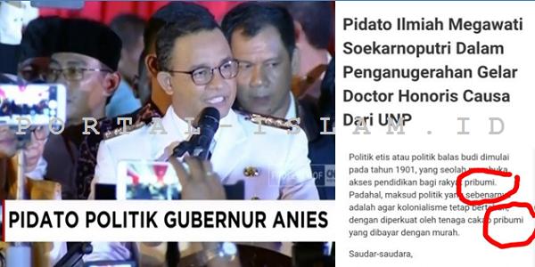 """Jadi yang Boleh Ngomong """"Pribumi"""" Cuma Megawati?"""