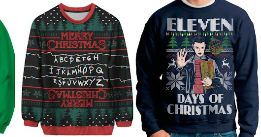 Ugly Christmas Sweaters - Fandom Edition