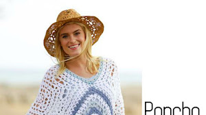 Poncho Crochet con Moldes y Patrones