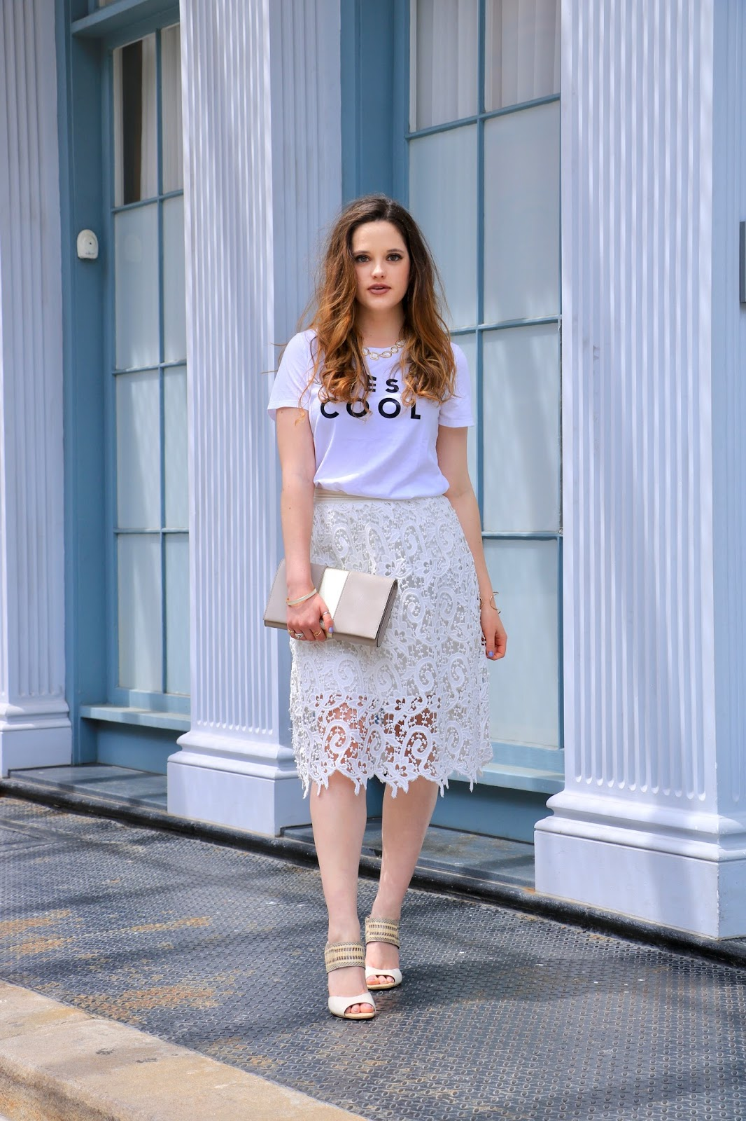 nyc fashion blogger Kathleen Harper showing off summer street style