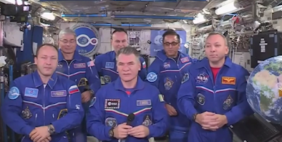 Russian astronauts says Alien samples in the ISS didn't come from Earth.