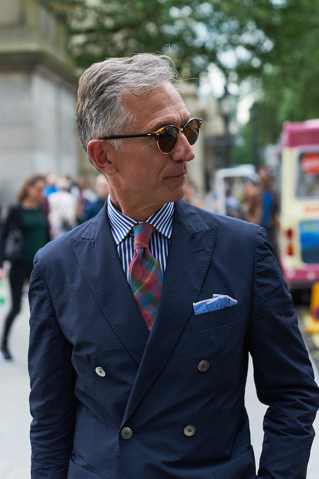 2a5d563380d Ray-Ban Clubround from David Clulow. Suit Hardy Amies. Shirt Milton Green.  Image Bart Pajak