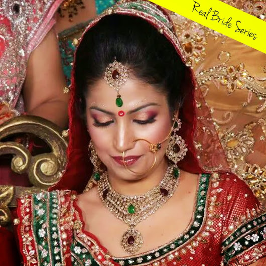 REAL BRIDES: LUDHIANA BRIDE REVIEWS HER MUA - Guilty Bytes Blog :Top Indian Fashion | Beauty | Style Blog Delhi