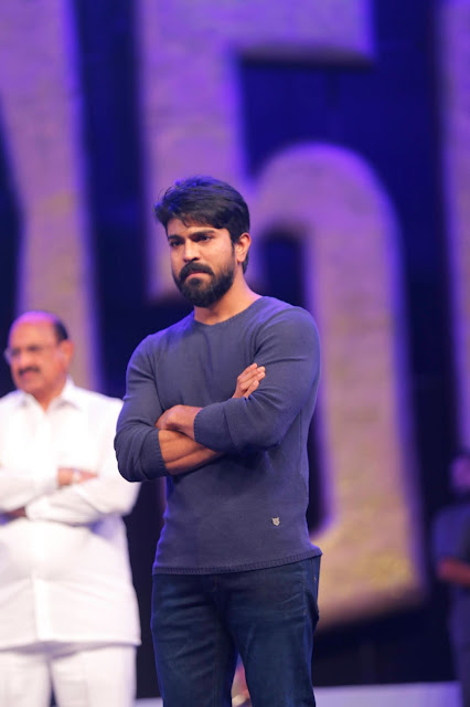 Ram Charan at Khaidi no 150 pre release event