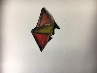 レジン彩色切り絵の作り方