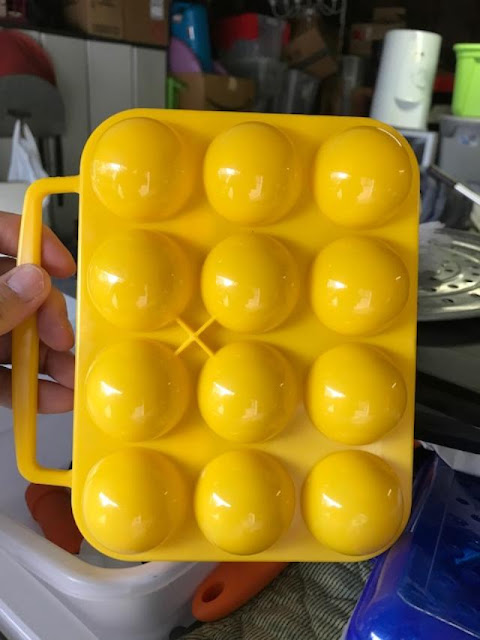 camping egg carrier