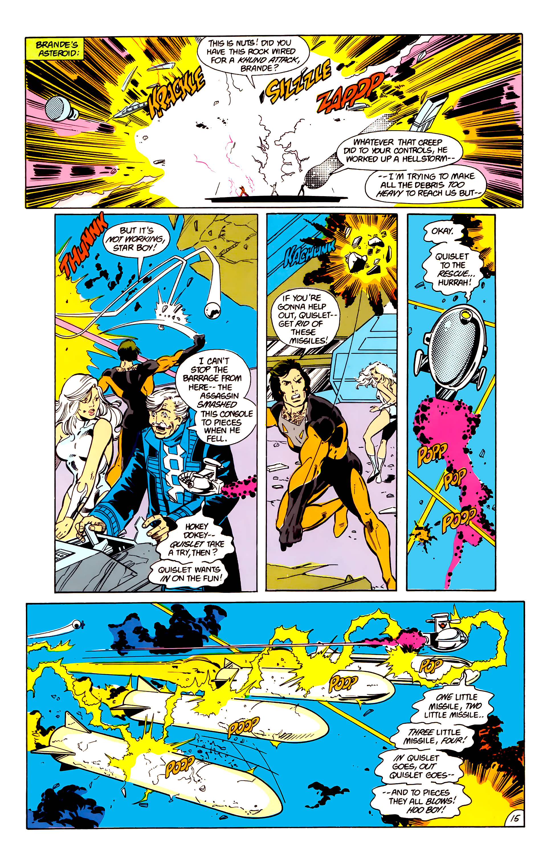 Legion of Super-Heroes (1984) 17 Page 16