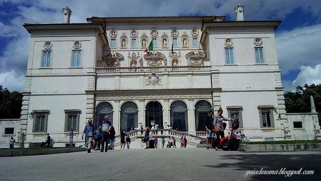 galeria borghese turismo em Roma - Galleria Borghese: Caravaggio e Bernini para fortes corações