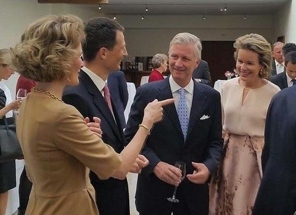 HRH Hereditary Princess Sophie of Liechtenstein - King Philippe and Queen Mathilde attended the annual meeting of the heads of state of German-speaking countries in Vaduz, Liechtenstein (Principality of Liechtenstein), Prince Hans-Adam, Hereditary Prince Alois, Prince Joseph Wenzel, Prince Georg, Prince Nikolaus, Prince Maximilian, Prince Alfons, Prince Constantin, Prince Moritz, Prince Benedikt,