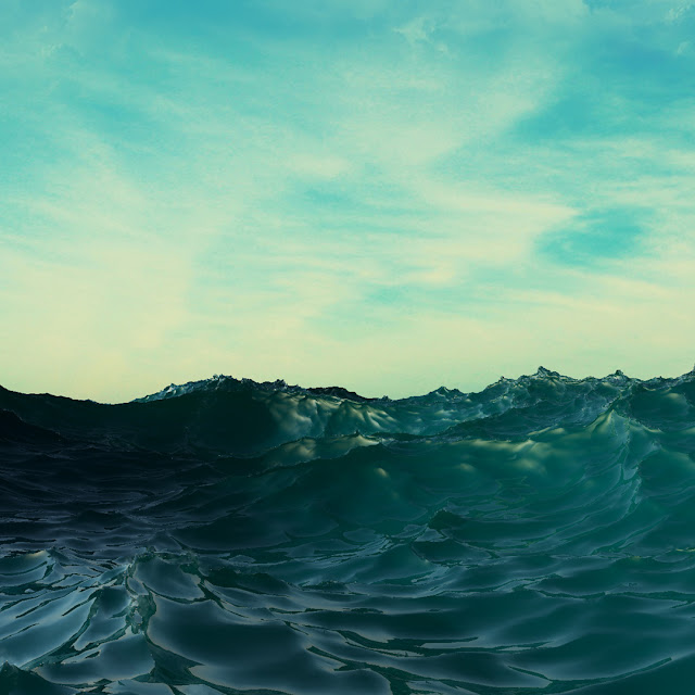 ripples, wave, ocean, photoshop, Cédric Gilbert