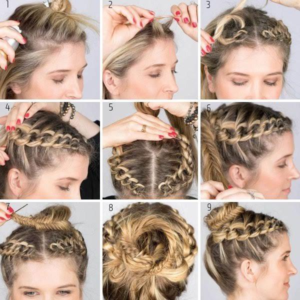 si quieres ver el vdeo tutorial de este peinado haz clic aqu