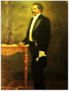 Retrato do Senador Pinheiro Machado, na Prefeitura Municipal de Porto Alegre