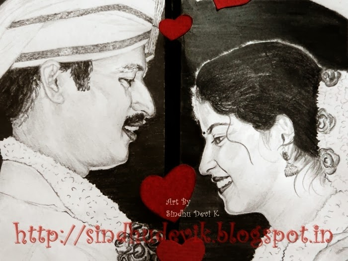 Wedding - Pencil Drawing