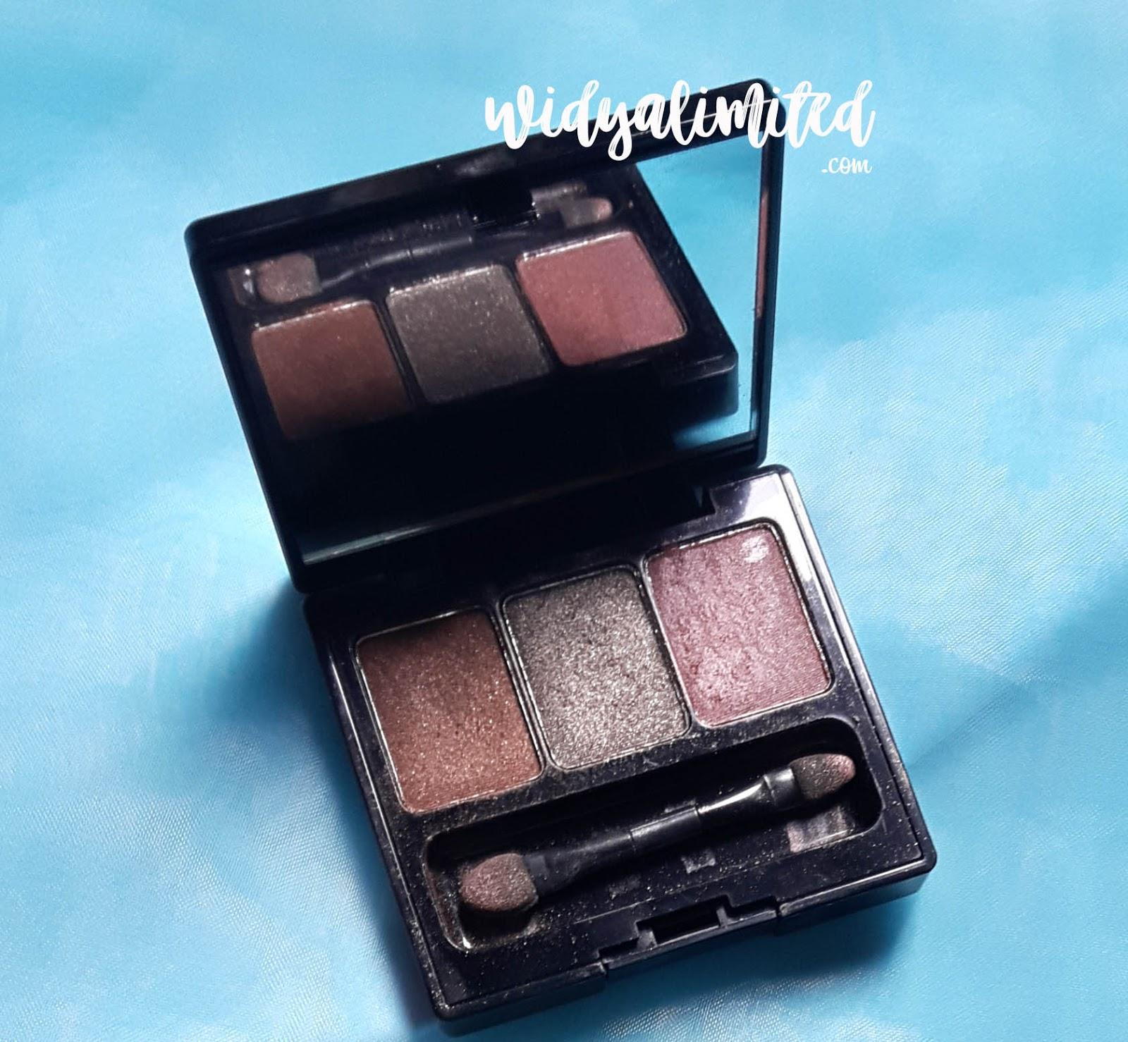Honest Review Make Over Trivia Eyeshadow Seri Natural Nude Trio Makeover Packaging Bagian Dalam