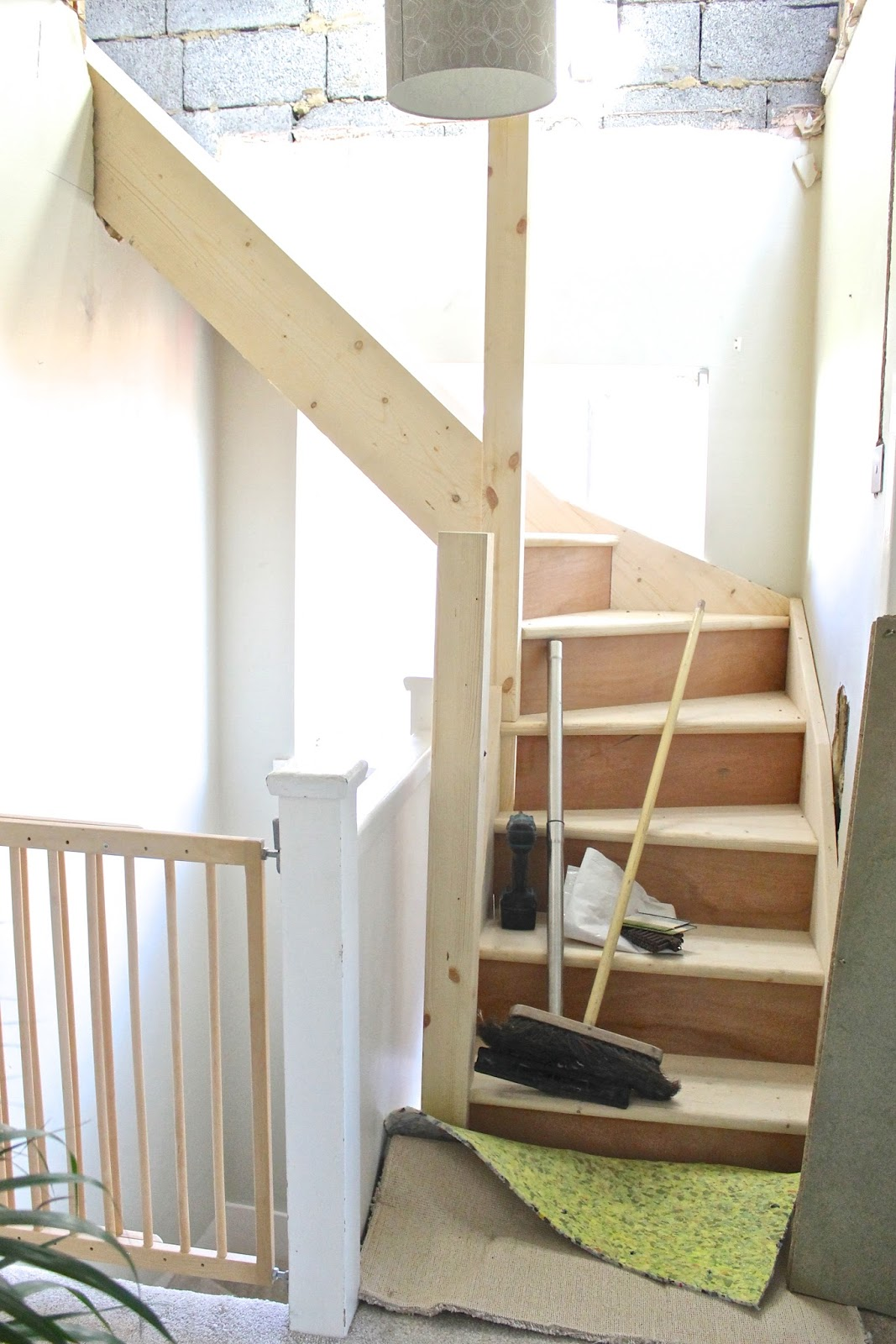 Our Loft Conversion The Stairs Are In An Update Bump To Baby Beyond Blog Uk Based