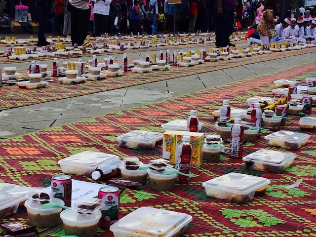 berbuka puasa dataran merdeka, iftar @ kl 2017