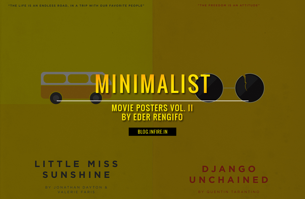 Minimalist Movie Posters Vol. II by Eder Rengifo