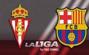شاهد مباراة برشلونة وسبورتينغ خيخون بث مباشر السبت 23-4-2016 الدورى الاسبانى