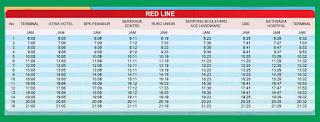 Rute Perjalanan dan Jadwal keberangkatan City Shuttle Paramount Serpong (Red Line)