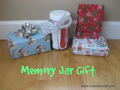 Memory Jar gift LMMLinkup