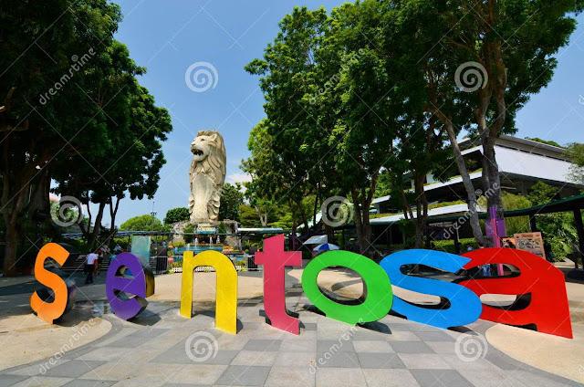 Visit Singapore Jelajah Singapura One Day Trip Sentosa Island
