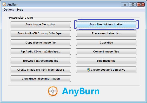 AnyBurn - Το δωρεάν πρόγραμμα που θα λατρέψεις για τις εγγραφές CD/DVD