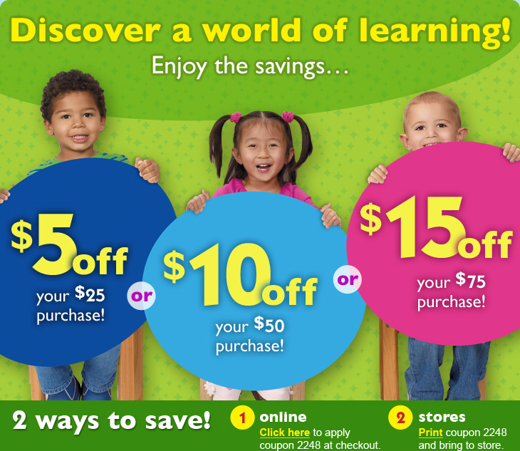 graphic relating to Lakeshore Learning Printable Coupons identify Coupon lakeshore mastering retail store : Costco coupon code for