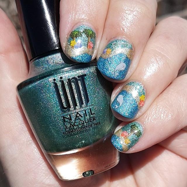 unt polish, holo polish, holopraphic, nailstickers, nail art