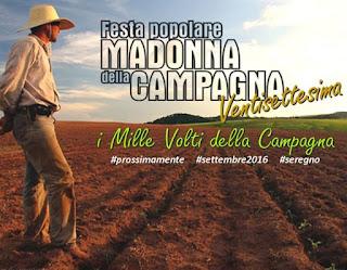 """Festa popolare """"Madonna della Campagna"""" e Fiera del Bestiame dal 2 al 12 settembre Seregno 2016"""