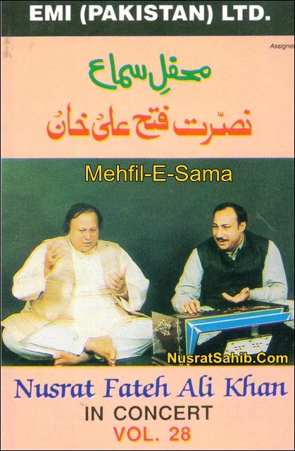 Mehfil-E-Sama Nusrat Fateh Ali Khan In Concert Vol. 28