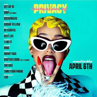 Invasion of privacy album tracklist