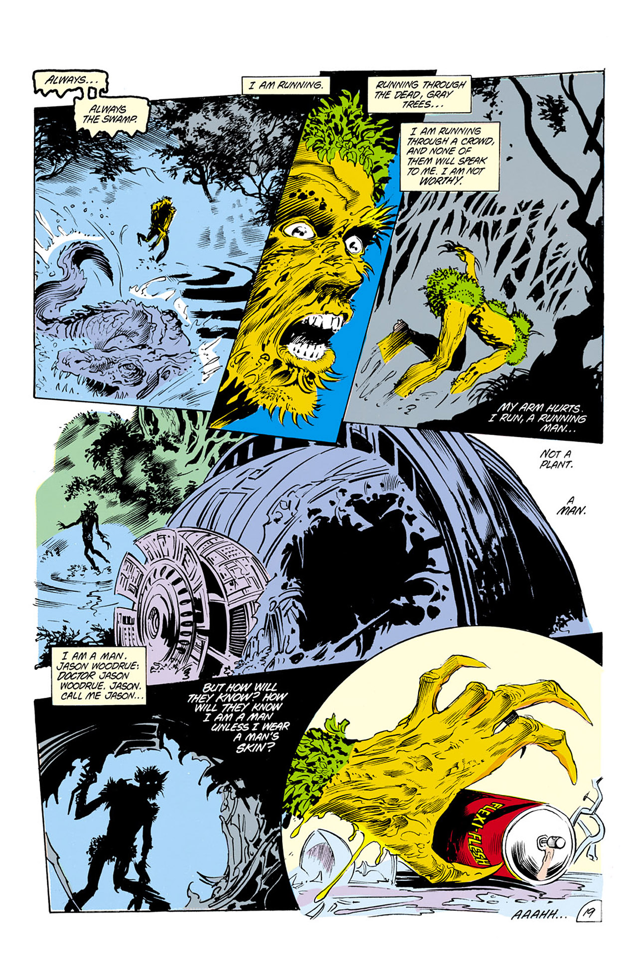 Swamp Thing (1982) Issue #24 #32 - English 20