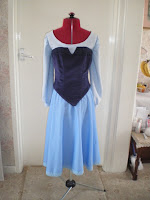Ariel's Blue Sightseeing Dress Tutorial by Tracy's Costuming World