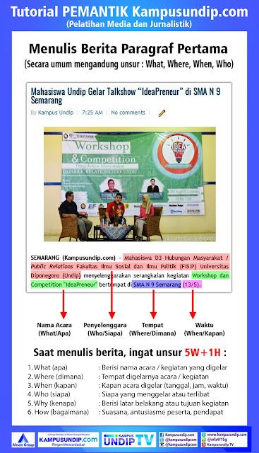 Pelatihan Jurnalistik dan Media KUC