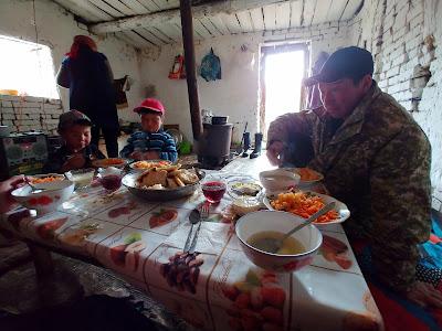 nocleg w jurcie Kirgistan nomadowie
