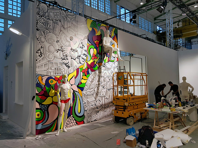 Street Art show Magic City (2016) - Drawing and Painting - #magiccitylife Munich