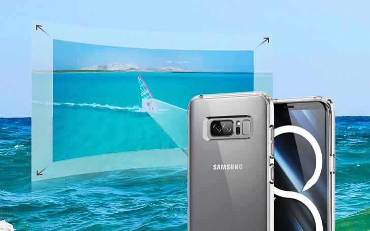 Hình ảnh đầy đủ 8 Phiên Bản Màu Của Samsung Note 8 Con