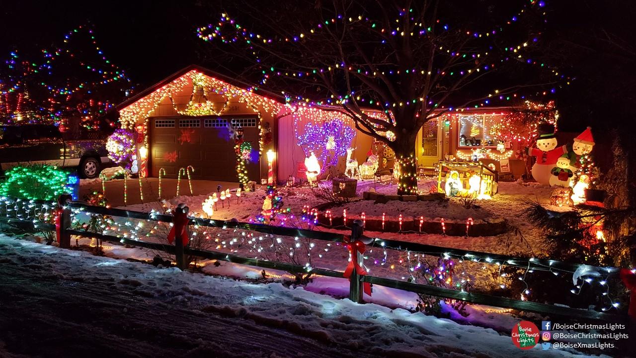 Christmas Lights Boise.Neighborhood Christmas Watch Edna Street Boise