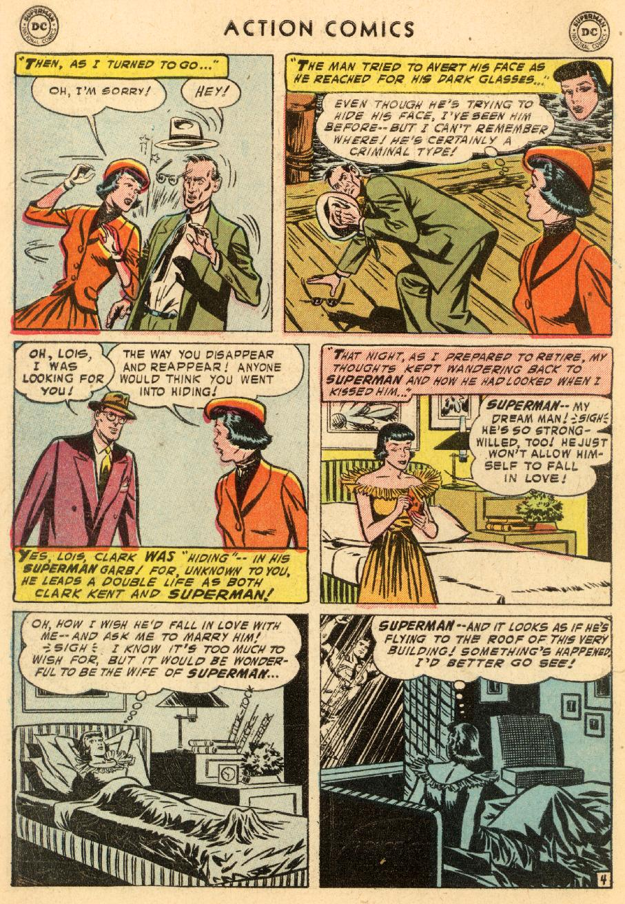 Read online Action Comics (1938) comic -  Issue #206 - 6