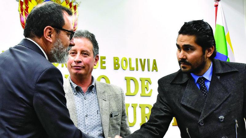 Resultado de imagen para quiborax autoridades boliviana acuerdo