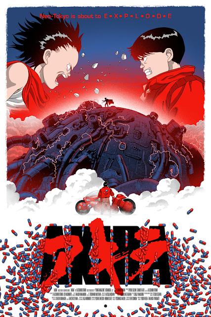Akira Screen Print by Marko Manev x Hero Complex Gallery