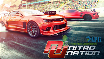 Game Balapan Nitro Nation Racing Versi 4.0.14 Apk Mod Unlocked Terbaru Android
