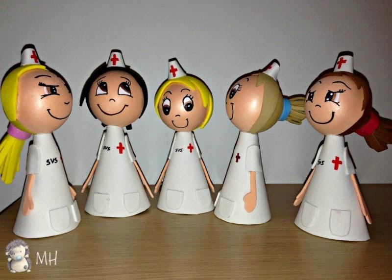 Fofulápices enfermeras