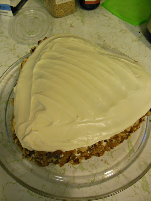 The Best Carrot Cake, moist until gone! Delicious!