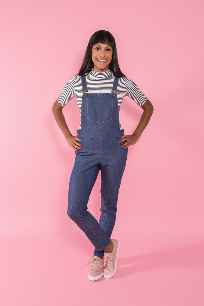 Mila dungarees sewing pattern - Tilly and the Buttons