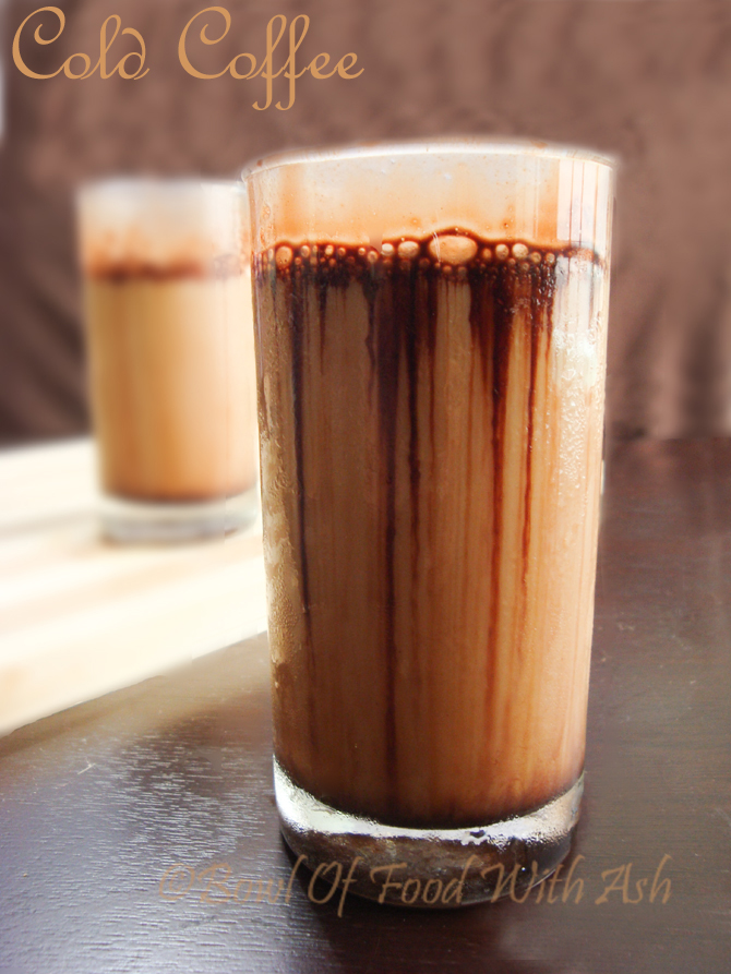 Cold Coffee Recipe | How To Make Cold Coffee