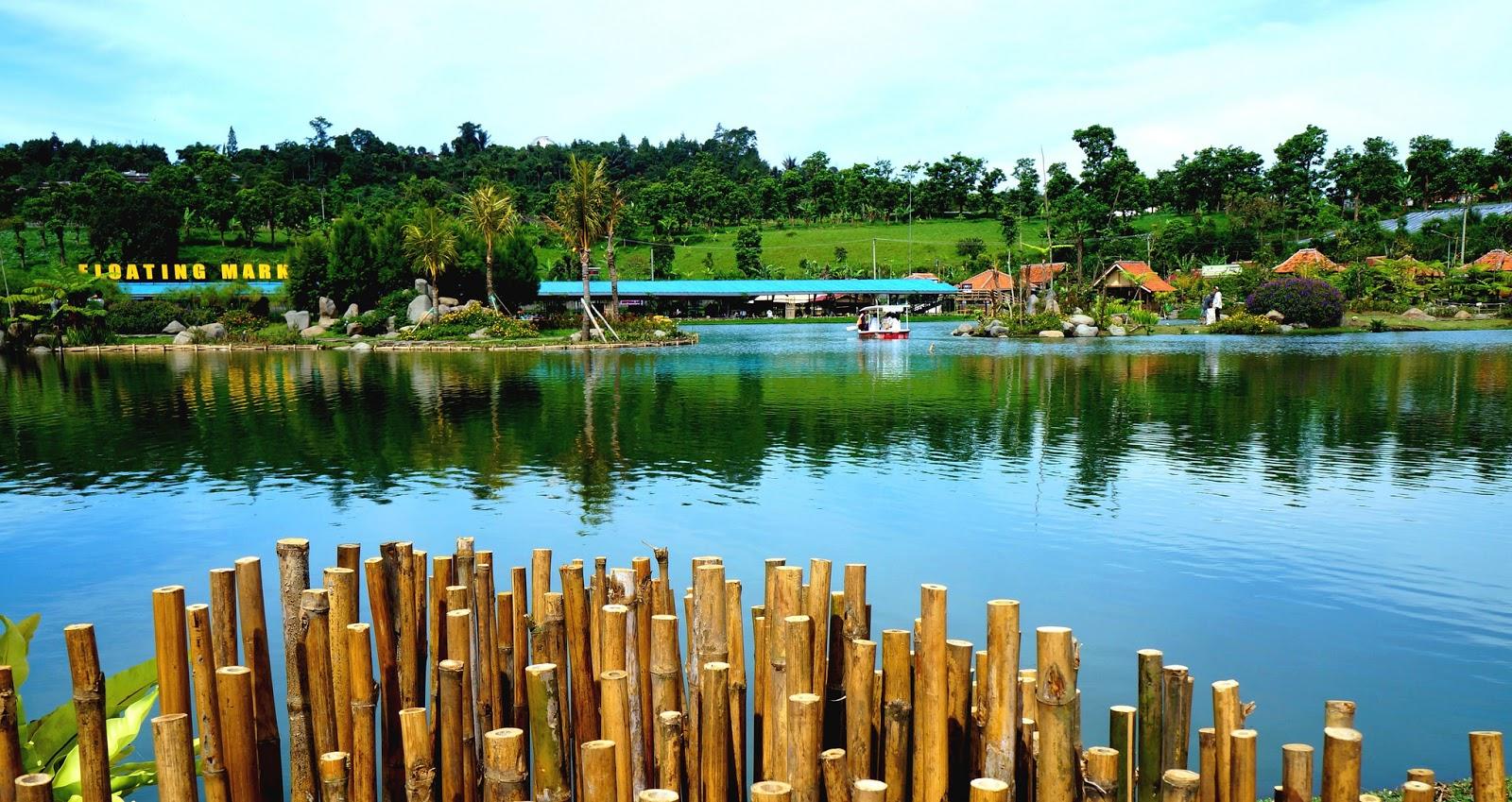Floating Market Lembang Tempat Wisata Asyik Di Lembang Bandung