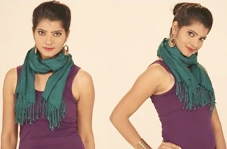 6 Gorgeous Ways to Tie a Scarf Around the Neck in 2 Mins |Style Tips on How To Wear A Scarf Yourself