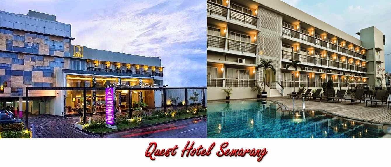 Quest Hotel Terletak Di Jalan Plampitan No 37 39 Kota Semarang Ini Dekat Dengan Objek Wisata Yang Terkenal Yaitu Lawang Sewu Dan